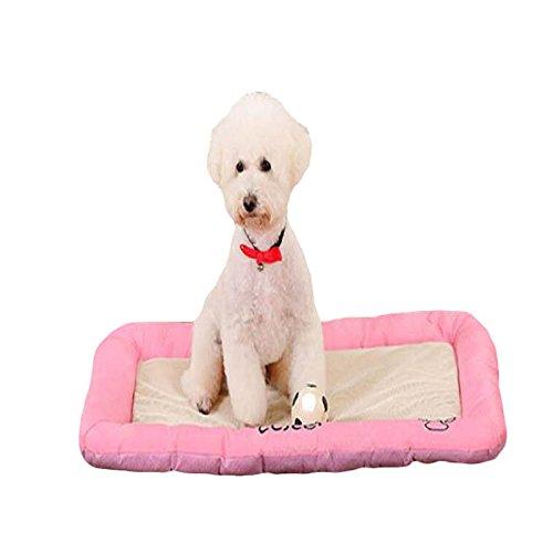 EgBert Pet Dog Beds Anti-Bite Ice Silk Mesh Tuch Hund Cat Bed House Kennel Nest Pet-Bett-Hunde-Kissen - S