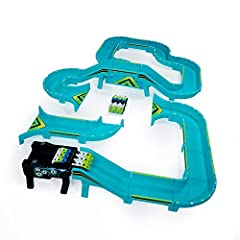 EXTREME TAKEOVER: This deluxe set has 70+ Pieces! Double the tracks and two All-Surface Vehicles for double the fun! ALL-SURFACE VEHICLES: Power Treads are all-surface vehicles that flip, rip and roam all over your home! DESIGN & CUSTOMIZE: Build you...