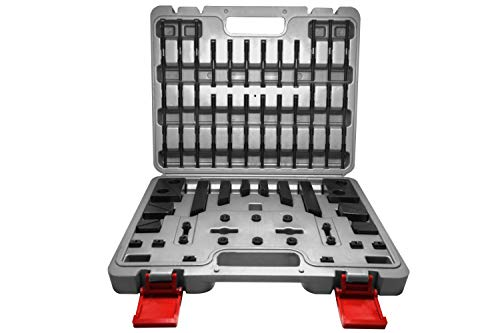 PAULIMOT Spannpratzen-Set 58-teilig M6 / 8 mm im Koffer