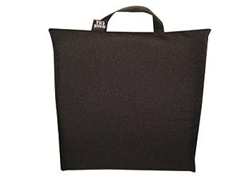 Padded Bleacher Stadium Seat Cushion Seat Cushion Made in USA  Black