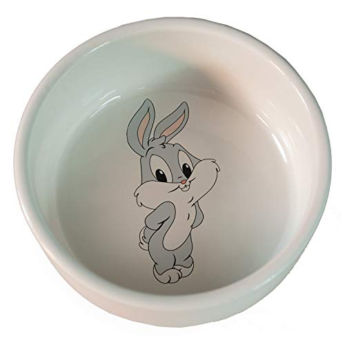 Comedero cerámica conejo