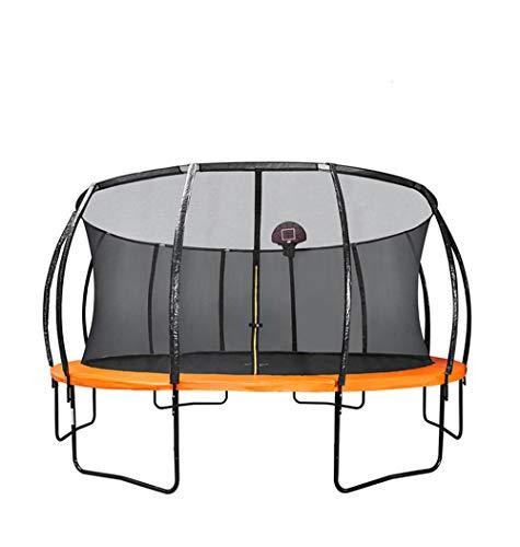 Cama Elástica de jardín Jump, Trampolín con Superficie de Salto y Red de Seguridad,Cama de Saltar para Niños y Adultos,Interior y Exterio, MAX 450 kg
