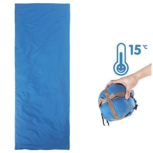 LEJZH Umschlag-Schlafsack, Warme, Ultraleichte, Spaltbare Schlafsäcke Für Kinder, Jugendliche Und Erwachsene Für Reisen, Camping, Wandern, Indoor-Outdoor,145 * 60cm600g