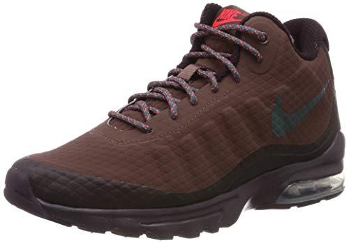 Nike Air MAX Invigor Mid, Zapatillas de Deporte Hombre, Multicolor (Mahogany Mink/Faded Spruce/Burgundy Ash 200), 40.5 EU