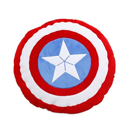 BTPDIAN Captain America Shield Siesta Pillow Cushion Cushion Cushion Cushion Wearable Sofa Cushion
