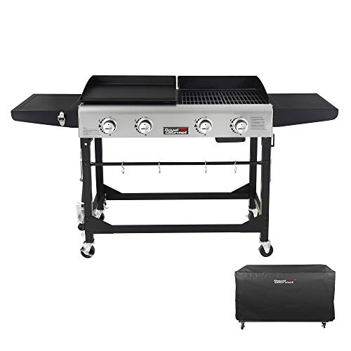 Royal Gourmet GD401C 4-Burner Portable Propane...