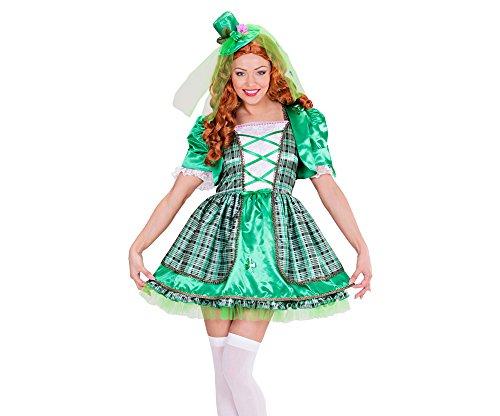 WIDMAN Chica irlandés Adultas - Disfraz - Medium - Tamaño - 38-40