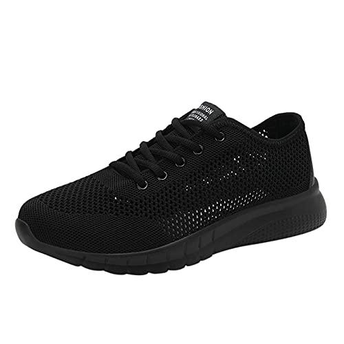 Zapatillas de Trekking para Hombres Casual Tenis Asfalto Zapatos Deporte Fitness Gym Correr Gimnasio Deportives Transpirables Seguridad Atlético Bambas Plataform Sneakers