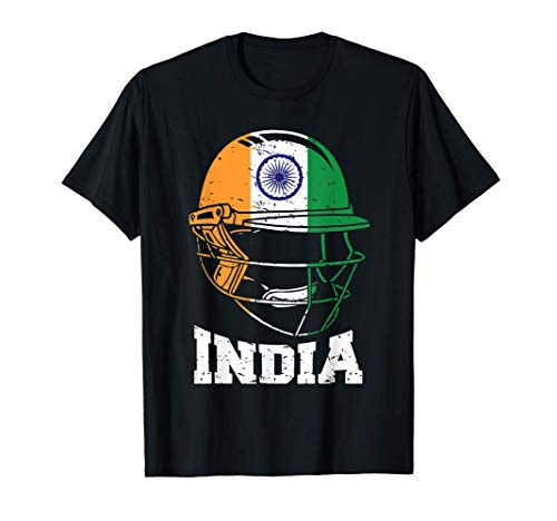 India Cricket T Shirt for Fans Jersey Gift Indian Cricket T-Shirt