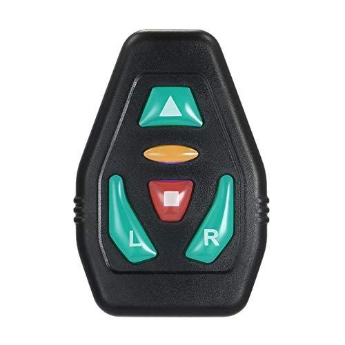 HTGW Vélo sans Fil Gilet de sécurité avec Turn Signal d'avertissement à Distance réfléchissant de contrôle Gilet Sac à Dos for Cyclisme Course à Pied Marche (Color : Only Remote Control)