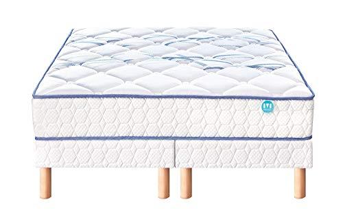 Ensemble Matelas ressorts Merinos JOYSTIC Confort Morphologique 26 cm 180x200