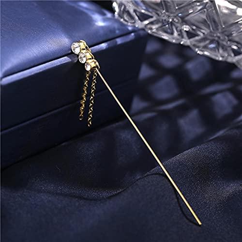 FEARRIN Pendientes Anillos de Moda Pendientes de Gancho Bohemio Pendientes de Cristal para Mujer Pendientes de Oreja de Boda paraHombres Pendientes de Zirconia relámpago Joyería 5210808