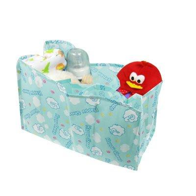 ZTH Heureux Sheep Design Sac Non-tissé Maman Couche-Culotte avec 6 Compartments (Rose) (Color : Baby Blue)