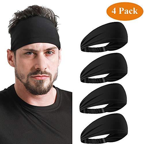 DEMIL - Sportkopfbedeckungen für Damen in 4PACK-4Schwarz