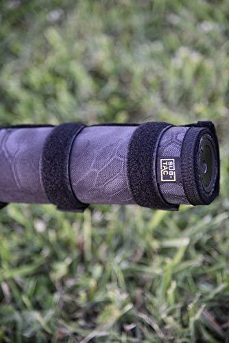Sub-tac Full Auto High Temp Alpha Suppressor Cover 7.5 inch Dark Black Kryptek