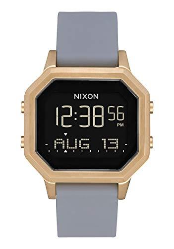 Nixon Damen Digital Uhr mit Silikon Armband A1211-3163-00