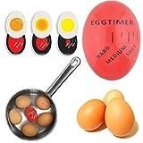 AGAN Creative Kitchen Gadgets Accesorios Resina Huevos Temporizador de Calor Sensible Cambio de Color de Control de Software Huevos Duros Utensilios de Cocina