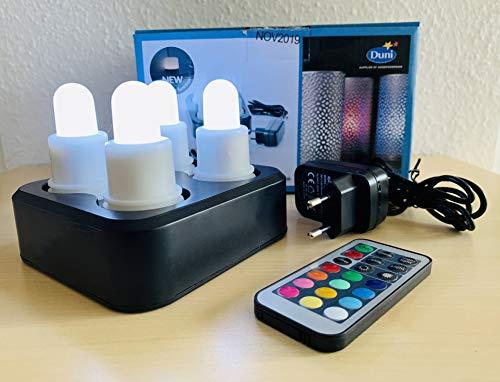 Duni LED Station 4er Set Multicolour