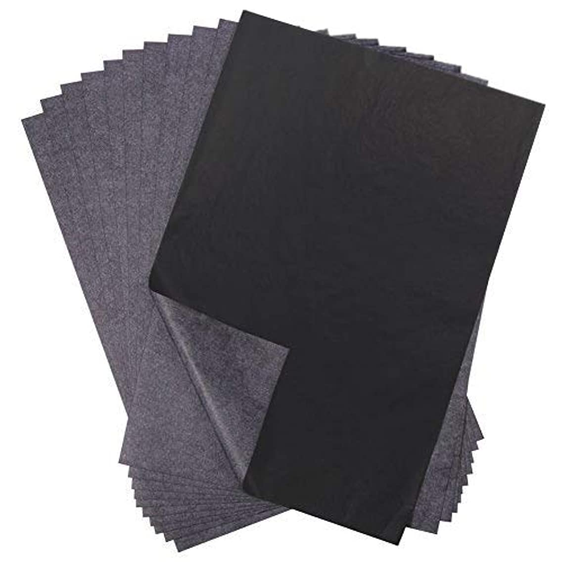 Selizo 120 Sheets Black Carbon Transfer Tracing Paper for Wood, Paper, Canvas and Other Art Surfaces (9 x 13 Inches)