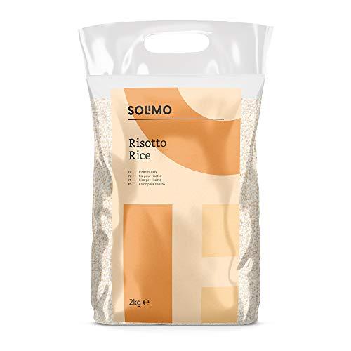 Marca Amazon Solimo Arroz para risotto, 4kg (2 packs x 2kg)