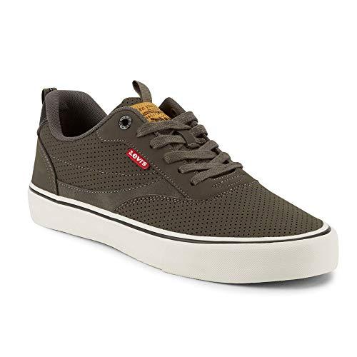 Levi's Mens Lance Perf S Fashion Sneaker Shoe, Charcoal/Black, 13 M