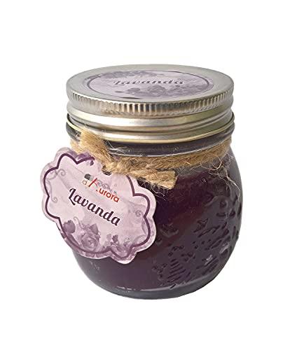 Velas de Aurora Anna perfumada con jarrón de Cristal y Tapa, Cera,...