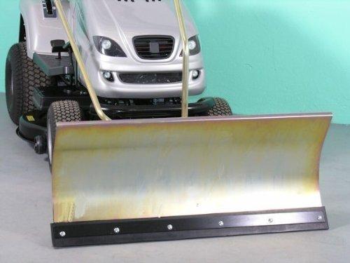 Jonsered LT2216 Zincato 118 X 50 Cm Comfort-Lama Spazzaneve Per Prato Trak Porte ID 2234
