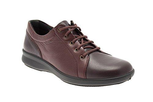 Db Easy b Shoes , Damen Schnürhalbschuhe 37, Marineblau/Pflaume - Größe: 37