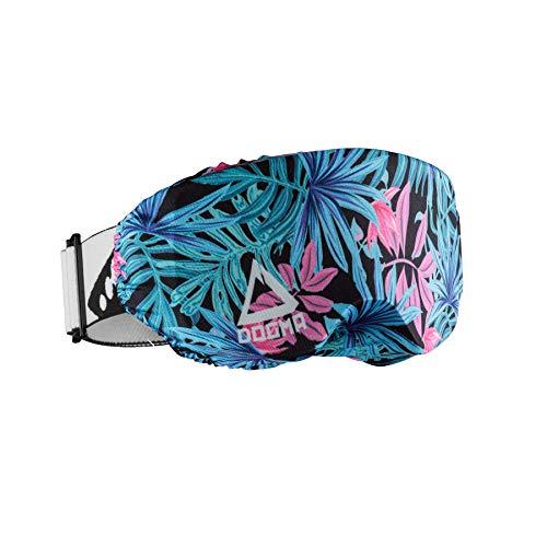 DOGMA Funda para gafas – Funda de protección en microfibra para lunettes de snowboard, lunettes de VTT y FMX – Cintura única (Tropic)