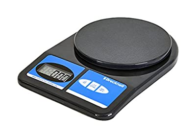 Brecknell 311 Electronic Office Scale, 11 lb Capacity, LCD Display, Battery Operated