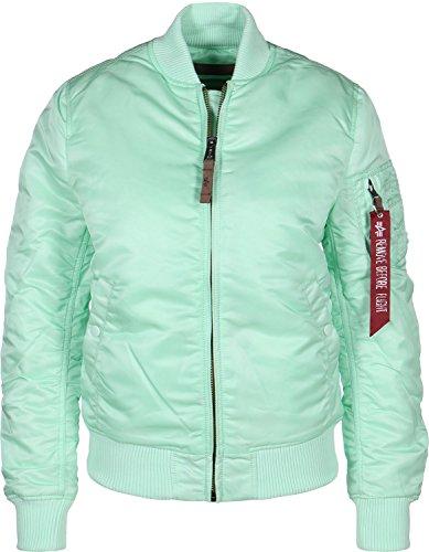 ALPHA INDUSTRIES Women's MA-1 VF 59 Wmn Vest, Mint Green, XS