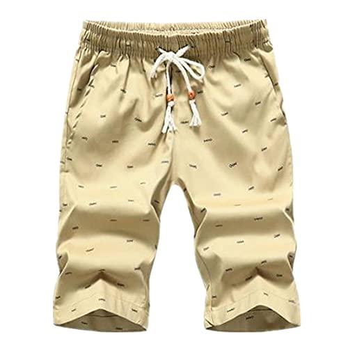 N\P Color sólido Pantalones Cortos de los Hombres Casual Cortos de Verano Deportes Cortos de los Hombres