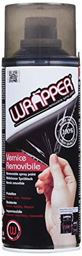 Lampa WR0295 Wrapper Oscurante fanali pell icola Spray Removibile 400ml, Nero fumÈ