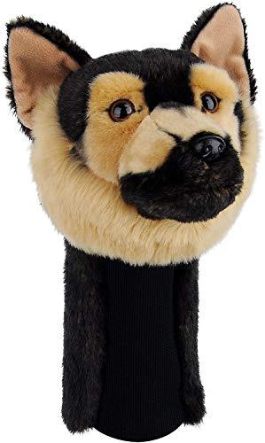 Bozily Golfschlägerhauben mit Schäferhund Retriever, Putter und Hölzer (460 cc)