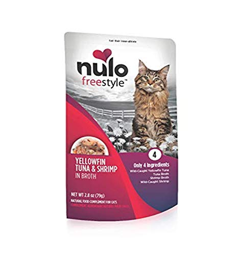 Nulo FreeStyle Topper with Yellowfin Tuna and Shrimp