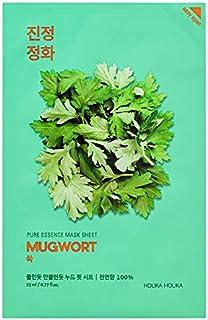 Holika Holika Pure Essence Mugwort Gezichtsmasker, set van 10 stuks, 10 stuks