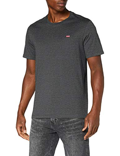 Levi\'s Herren SS Original HM Tee T-Shirt, Grau (Charcoal Heather), XL