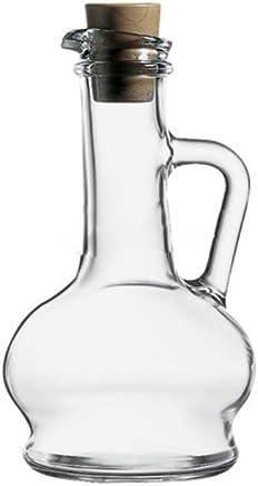 Preisvergleich für Dajar Öl-und Essigkaraffe 260 ml Pasabahce, Glas, Transparent 8 x 8 x 16,5 cm