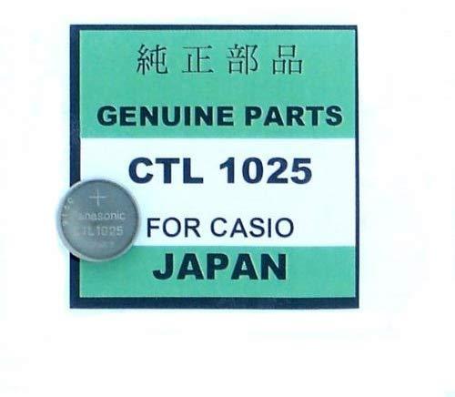 CASIO[カシオ] G-SHOCK用 二次電池[充電池] Panasonic CTL1025  キャパシタ 2.3V