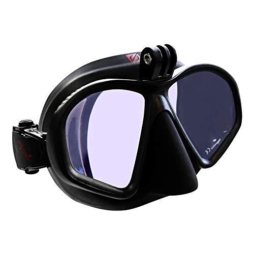 diving mask for go pros Hammerhead Spearguns MV3 Action Diving Mask