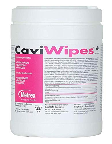 CaviWipes - Cavicide Germacidal Cleaner Wipes 160 ct Arizona