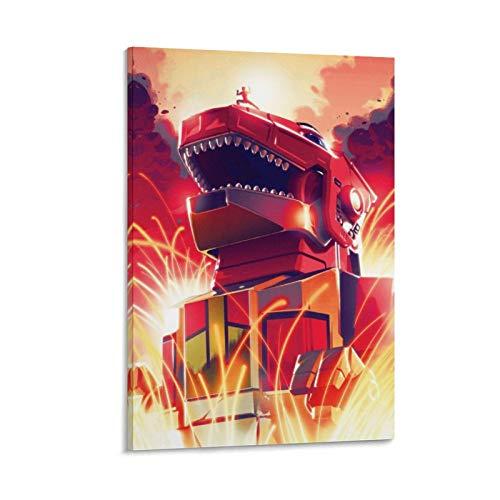 Póster de Power Rangers Dino Charge y arte de pared, impresión moderna, para decoración de dormitorio familiar, 30 x 45 cm