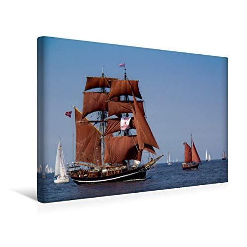 Premium - Lienzo de tela (45 x 30 cm, horizontal), diseño de calendario bajo velas, cuadro sobre bastidor, imagen sobre lienzo auténtico, impresión sobre lienzo (CALVENDO Natur), Calvendo Natur