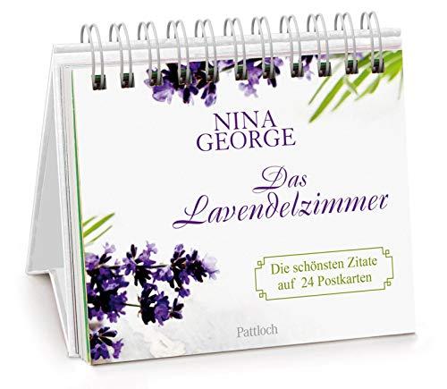 Das Lavendelzimmer: Die schönsten Zitate auf 24 Postkarten