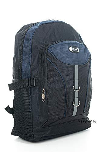 Ormi Zaino per Sport Viaggio Scuola Lavoro per MacBook PRO, iPad e Notebook 0217 (Blu)