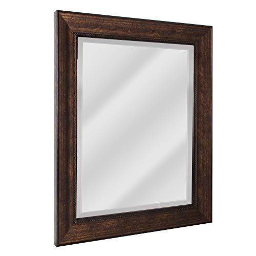 Head West 8940 Wall Mirror, 28.5 x 34.5, Bronze