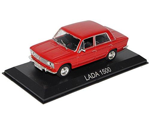 Unbekannt Lada 1500 Limousine Rot 1973-1984 mit Sockel 1/43 Modellcarsonline Modell Auto