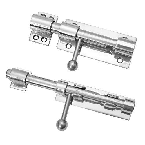 Bolzenriegel aus Edelstahl V4A in 2 Varianten zum auswählen zum Schrauben oder zum schweißen (Zum Anschweißen)