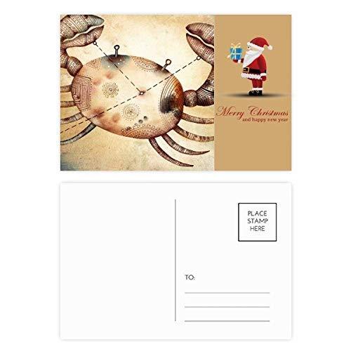 Juni juli Kanker sterrenbeeld Zodiac Kerstman Postkaart Set Thanks Card Mailing 20 stks