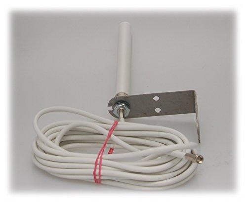 Alda PQ Antenne zur Wandmontage für 4G (LTE), 3G (UMTS), 2G (GSM), mit SMA/M Stecker und 5m Kabel 2,2 dBi Gewinn